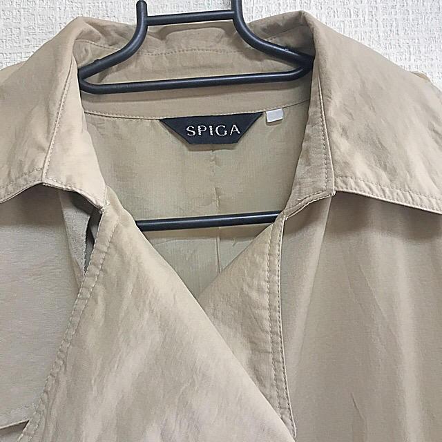 SPIGA(スピーガ)の春秋♡スピーガ、ベージュ、トレンチ、膝丈 レディースのジャケット/アウター(トレンチコート)の商品写真