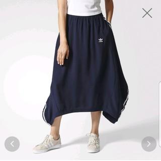 アディダス(adidas)のアディダス アシメ ロングスカート(ロングスカート)