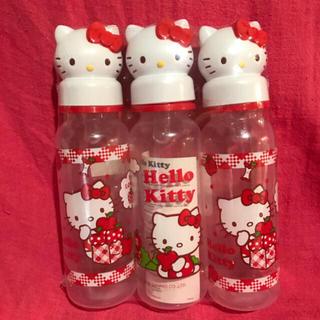 ハローキティ(ハローキティ)のキティちゃん 哺乳瓶 250ml(哺乳ビン)