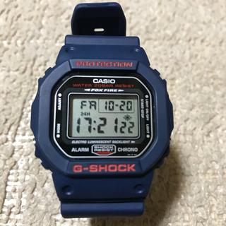 カシオ(CASIO)の【入手困難‼︎‼︎早い者勝ち‼︎】G-SHOCK DW 5600BD ネイビー(腕時計(デジタル))