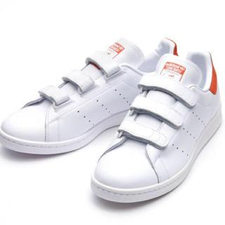 アディダス(adidas)のじゅりえっと様専用❤️22.5㎝❤️アディダス スタンスミス ベルクロ オレンジ(スニーカー)