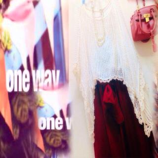ワンウェイ(one*way)の新品♡ワンウェイoneway ポンチョカーディガン 定価5000円 ドルマン(カーディガン)