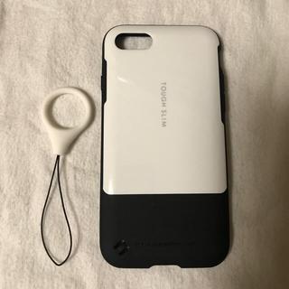 タフ(TOUGH)のTough slim white (iphone7)(iPhoneケース)