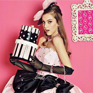 バービー(Barbie)のbarbie カラードレス 7T(ウェディングドレス)