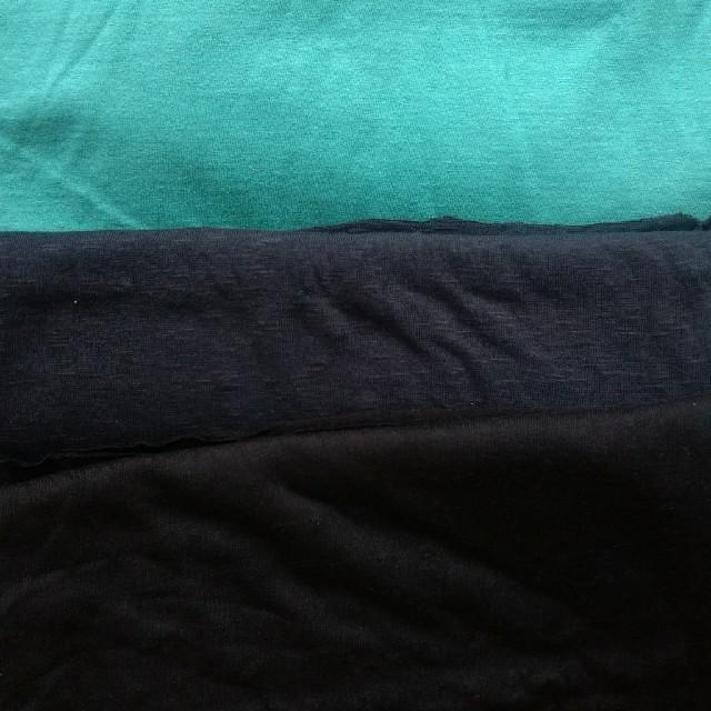 ニット生地セット12 絶妙な色と風合いのよいニット☆ ハンドメイドの素材/材料(生地/糸)の商品写真