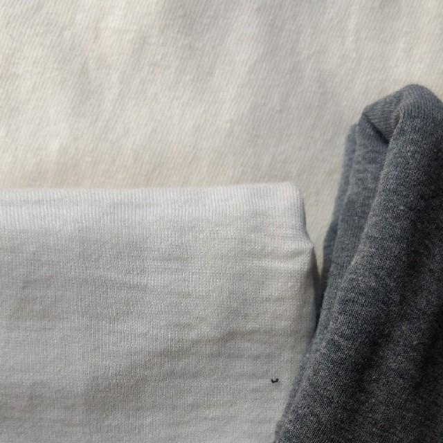 ニット生地セット15 モノトーン ハンドメイドの素材/材料(生地/糸)の商品写真