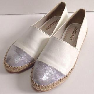 ▷ バイカラー フラットシューズ ◁(ローファー/革靴)