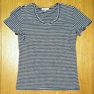 シマムラ(しまむら)のしまむら ラメ入ボーダーTシャツ Mサイズ(Tシャツ(半袖/袖なし))