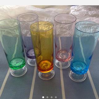 トウヨウササキガラス(東洋佐々木ガラス)のぼも様専用です!  ⭐️お値下げ⭐️レア❤︎グラデーション・グラス    5組(グラス/カップ)