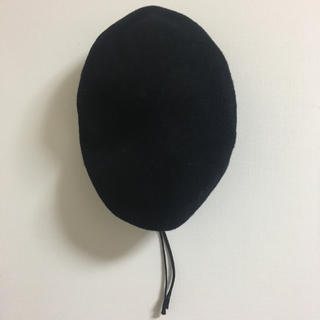 スピンズ(SPINNS)の【☆新品☆】SPINNS / ベレー帽 (黒)(ハンチング/ベレー帽)