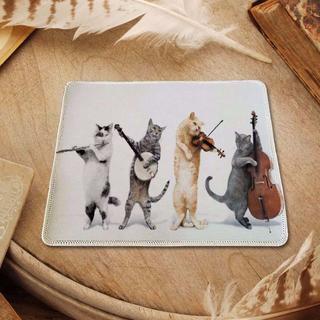 ねこ 猫 ネコ 猫マウスパッド ねこマウスパッド♪ 新品未使用品 送料無料(猫)
