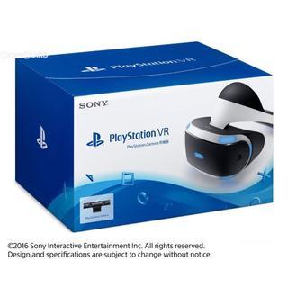 プレイステーションヴィーアール(PlayStation VR)の新品印有!PSVR PSカメラ同梱版 CUH-ZVR1(家庭用ゲーム機本体)