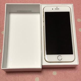 アップル(Apple)の箱付き iPhone6 ゴールド 状態良(スマートフォン本体)