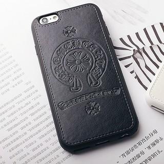 クロムハーツ(Chrome Hearts)の 【ブラック】iPhone7 スマホケース★最新クロムハーツデザイン(iPhoneケース)