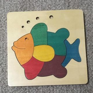 ロンハーマン(Ron Herman)の☆新品☆ GEORGE LUCK 木製カラフルパズル 魚(知育玩具)