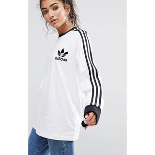 アディダス(adidas)の新品 ホワイト Mサイズ adidas★ カリフォルニア ロンT ユニセックス(Tシャツ(長袖/七分))