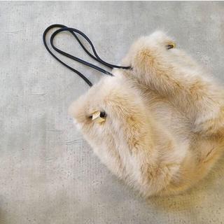 アリエス(aries)のぷぷララ様専用 aries mirage☆Eco Fur 巾着bag(ショルダーバッグ)