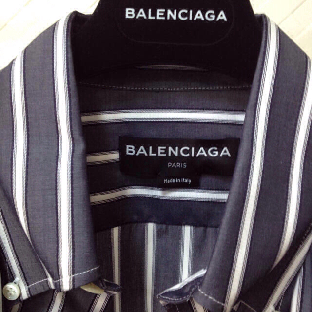 sale retailer 89cf2 7a11c 最終値下げ 新品未使用 国内正規 17AW BALENCIAGA シャツ