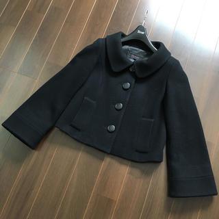 chereaux ショートコート ブラック
