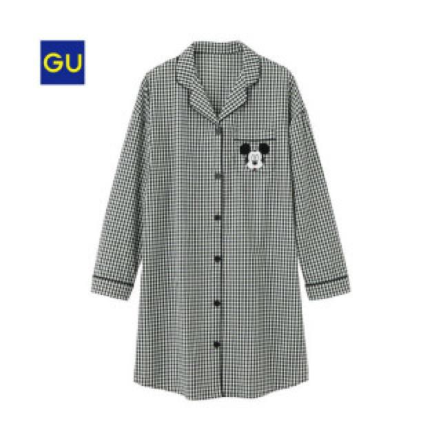 GU(ジーユー)の〔GU〕ミッキーパジャマ レディースのルームウェア/パジャマ(パジャマ)の商品写真