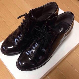 ヘザー(heather)のHEATHER エナメルOXシューズ(ローファー/革靴)