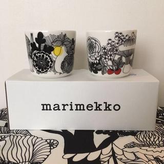 マリメッコ(marimekko)のmarimekko マリメッコ 完売 ラテマグ 2点 新品送料込(グラス/カップ)