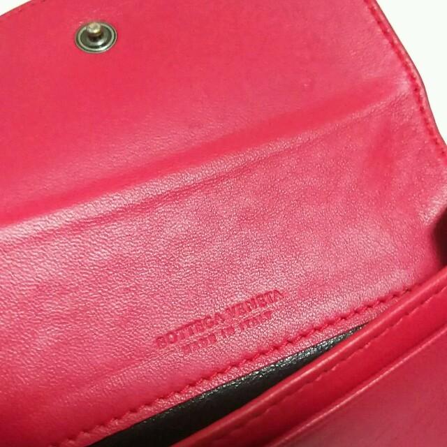 Bottega Veneta(ボッテガヴェネタ)のレア❗定価 4万円 ボッテガ・ヴェネタ カードケース レディースのファッション小物(名刺入れ/定期入れ)の商品写真