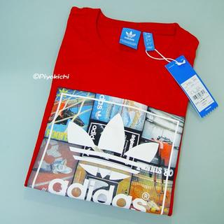 アディダス(adidas)のXO【新品/即日発送OK】adidas オリジナルス カタログ Tシャツ 赤(Tシャツ/カットソー(半袖/袖なし))