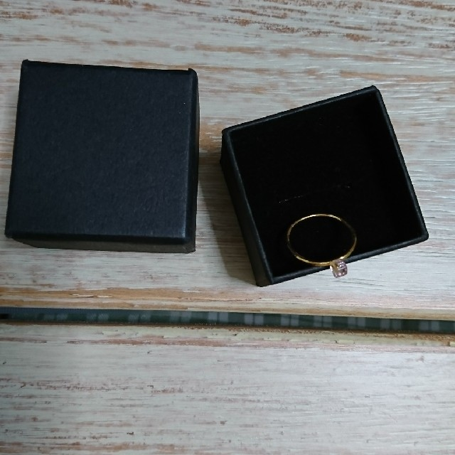 CAROLINA GLASER(カロリナグレイサー)の【新品・未使用】 ピンキーring レディースのアクセサリー(リング(指輪))の商品写真