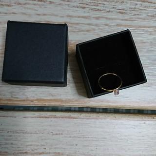 カロリナグレイサー(CAROLINA GLASER)の【新品・未使用】 ピンキーring(リング(指輪))