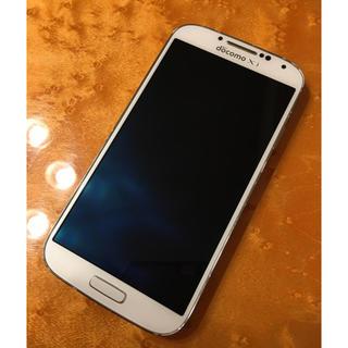 サムスン(SAMSUNG)のGALAXY S4 ギャラクシーs4  ホワイト(スマートフォン本体)