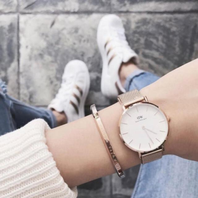 2017年新作❤️✨ダニエルウェリントンゴールドベルト腕時計 レディース