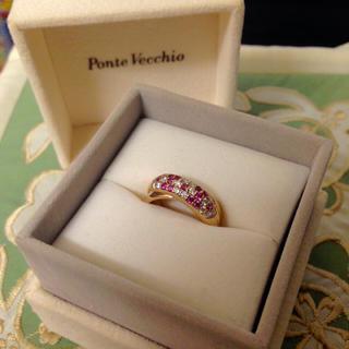 ポンテヴェキオ(PonteVecchio)のポンテヴェキオ リング 指輪 K18 金 ダイヤモンド 正規品(リング(指輪))