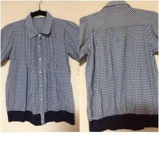 ジエンポリアム(THE EMPORIUM)のギンガムチェック  半袖(Tシャツ(半袖/袖なし))