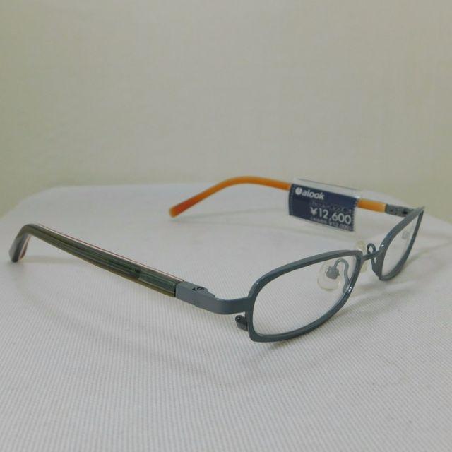 アルク★グレー&多色テンプル ★未使用  D15 M メンズのファッション小物(サングラス/メガネ)の商品写真