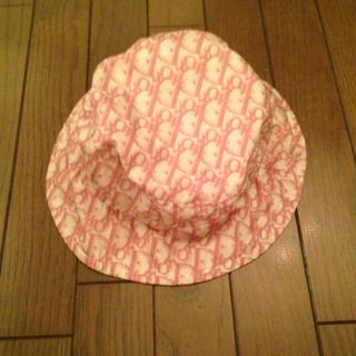 ディオール(Dior)のDiorピンク帽子(ハット)