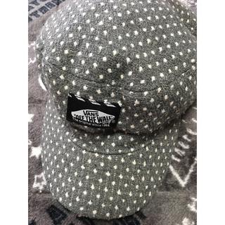 ヴァンズ(VANS)のヴァンズ秋冬物可愛い帽子サイズ54(帽子)