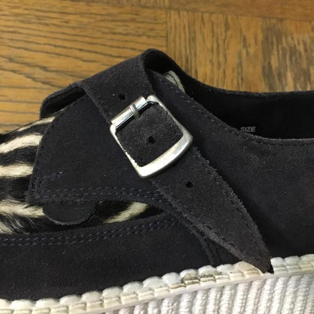 UNDERGROUND(アンダーグラウンド)の【希少・廃番・レア】UNDERGROUND レディース シューズ ゼブラ レディースの靴/シューズ(ローファー/革靴)の商品写真