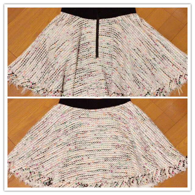 Milly(ミリー)の【大人気】ミリー♡スカート♡マルチカラーツイード レディースのスカート(ミニスカート)の商品写真