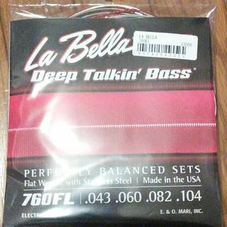 La Bella 760FL フラットワウンド ベース弦 ラベラ(弦)