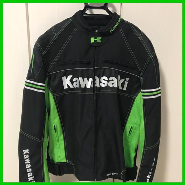 カワサキ(カワサキ)のkawasaki カワサキバイクジャケット★Monster Energy 自動車/バイクのバイク(装備/装具)の商品写真