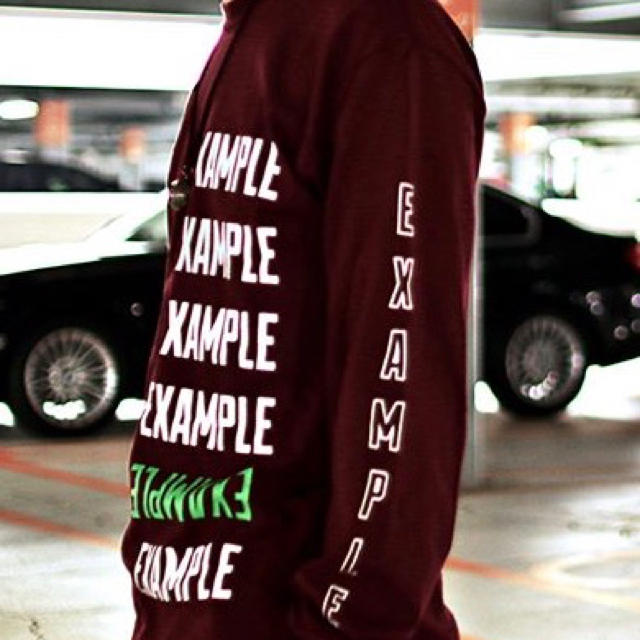 モトキチ様専用 サイズなどのご確認お願いします。example メンズのトップス(Tシャツ/カットソー(七分/長袖))の商品写真