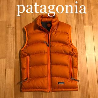 パタゴニア(patagonia)のパタゴニアのダウンベスト  レディース  sizeXS   604(ダウンベスト)