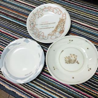 デビッドヒックス(David Hicks)の美品 インテリア ヴィンテージ感 レトロ 皿4枚セット(食器)