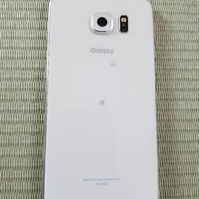 SAMSUNG(サムスン)のGALAXY S6 スマホ/家電/カメラのスマートフォン/携帯電話(スマートフォン本体)の商品写真