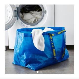 イケア(IKEA)のIKEA バッグ エコバッグ Lサイズ FRAKTA キャリーバッグ(エコバッグ)