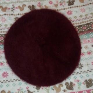 ウィゴー(WEGO)のベレー帽 ボルドー(ハンチング/ベレー帽)