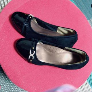 ブラック 黒 パンプス 靴(ハイヒール/パンプス)