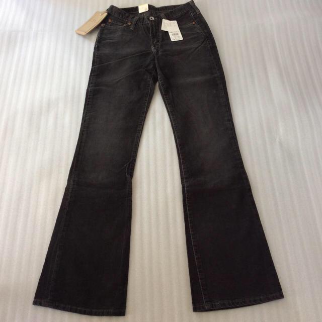 G-STAR RAW(ジースター)の新品 26 黒 ジースターロー コーデュロイ パンツ スラックス レディース レディースのパンツ(デニム/ジーンズ)の商品写真
