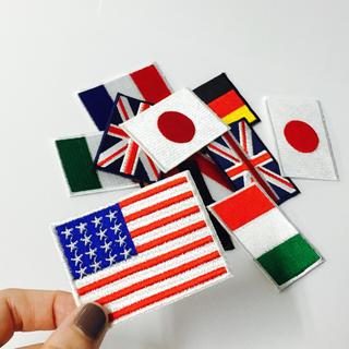 ザラ(ZARA)の国旗ワッペン 1つ500円(各種パーツ)